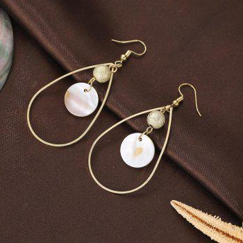 Boucles d'Oreilles Simple Shell Fashion - Or