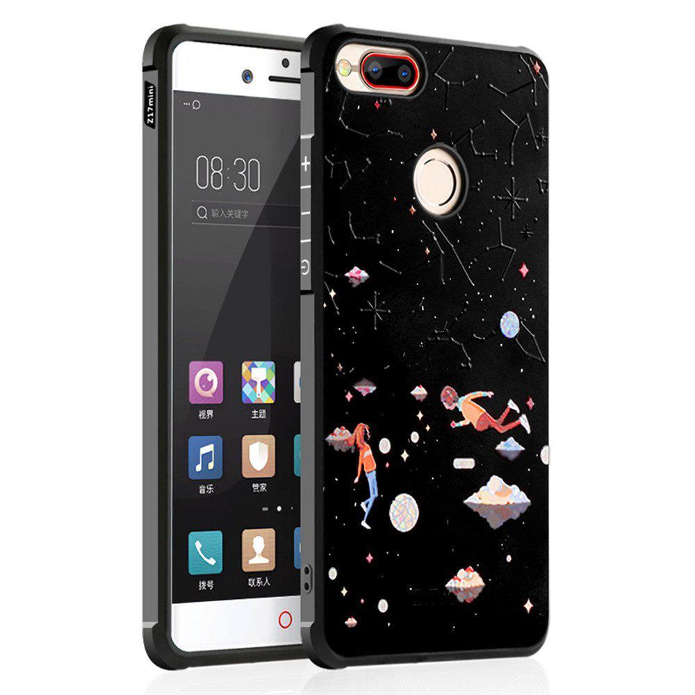 Shockproof Soft Silicone Case for Nubia Z17 Mini Cover Case 3D Painting Fashion Full Protective Phone Case - COLORMIX