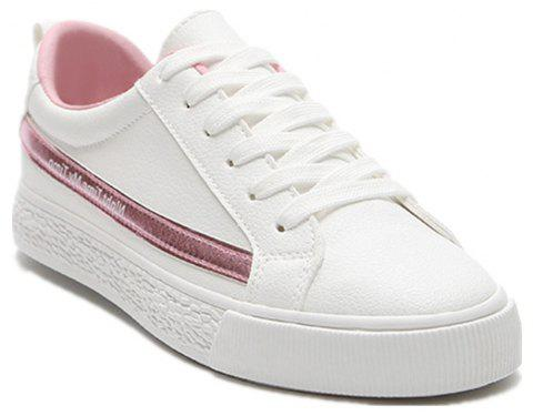 Spring Flat Shoes Street Casual Shoes - PINK 38