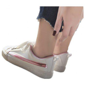 Spring Flat Shoes Street Casual Shoes - PINK 35
