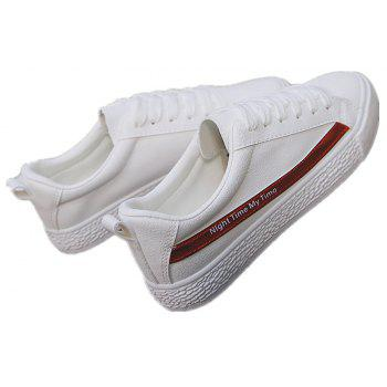 Spring Flat Shoes Street Casual Shoes - RED 37