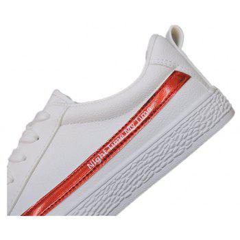 Spring Flat Shoes Street Casual Shoes - RED 38