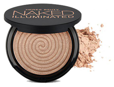HERES B2UTY Makeup Face Matte Bronze Trimming Highlighter Powder Illuminated Soft Mineral Long Lasting V Shape - 11