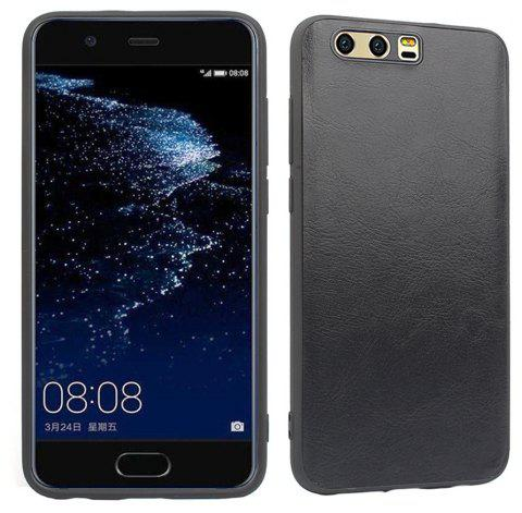Candy Full Cover for Huawei P10 Plus Luxury Back Matte Soft Silicon Case - BLACK