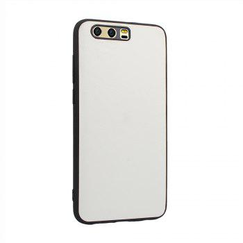Candy Full Cover for Huawei P10 Plus Luxury Back Matte Soft Silicon Case - WHITE
