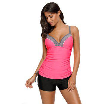 Bralette Tankini Set - rose S