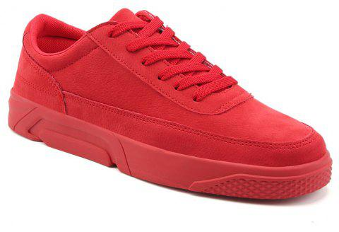 2018 Spring Fashion Men Skateboard Shoes - RED 41