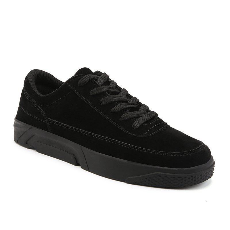2018 Spring Fashion Men Skateboard Shoes - BLACK 42