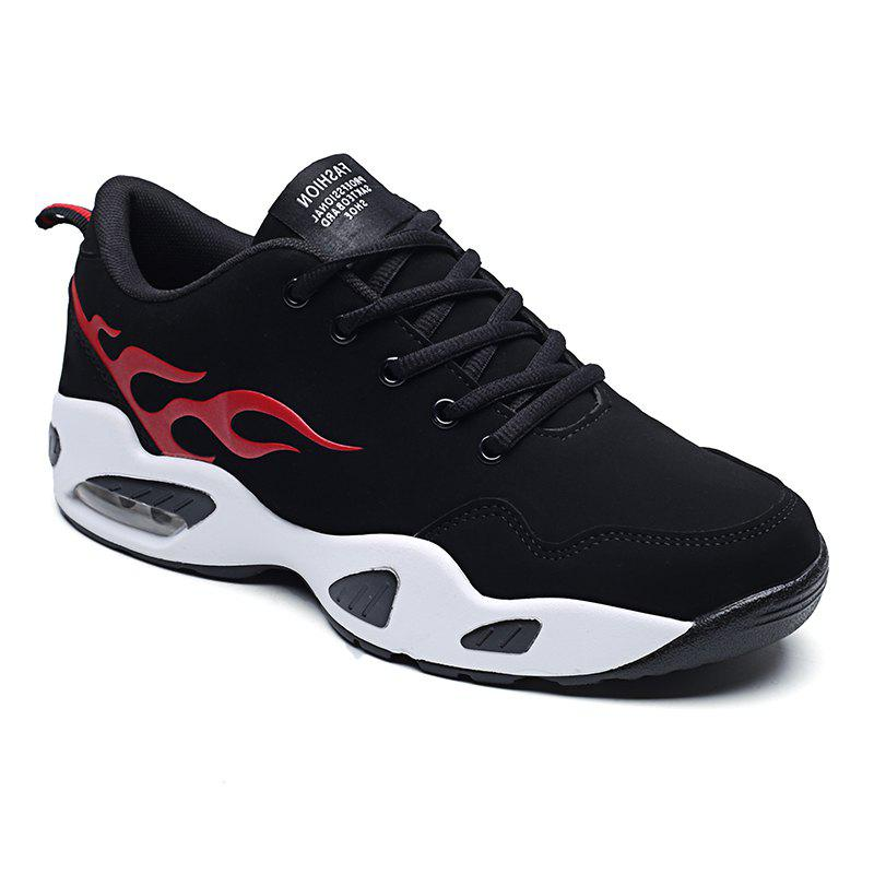 2018 Fashion Air-Cushion Sports Shoes - BLACK/RED 43