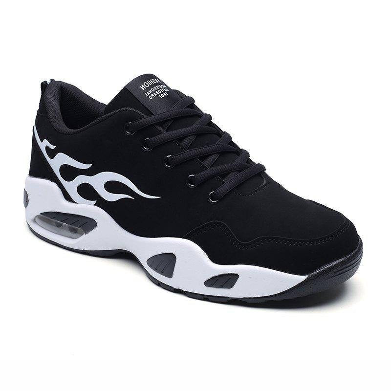 2018 Fashion Air-Cushion Sports Shoes - BLACK/WHITE 41