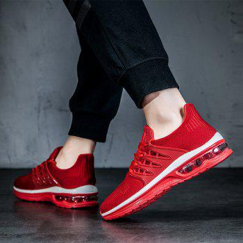 2018 New Arrival Air-Cushion Sports Shoes - RED 39