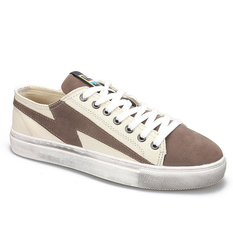 2018 New Arrival Men Skateboard Shoes - KHAKI 41