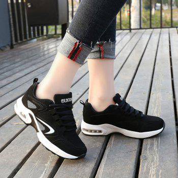 2018 Spring New Women Sneakers Hot Sale - BLACK/WHITE 39