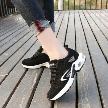 2018 Spring New Women Sneakers Hot Sale - BLACK/WHITE 35