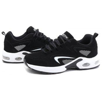 2018 Spring New Women Sneakers Hot Sale - BLACK/WHITE 36
