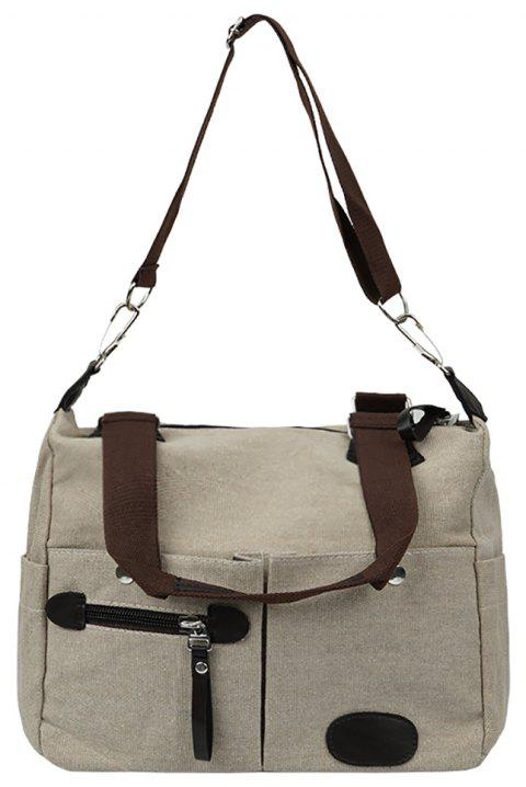 Fashionable Ladies Shoulder Messenger Bag - OFF WHITE