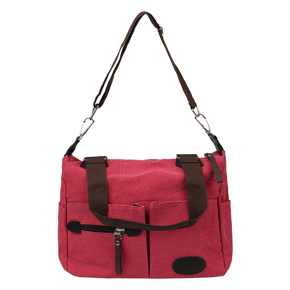 Fashionable Ladies Shoulder Messenger Bag - WATERMELON RED