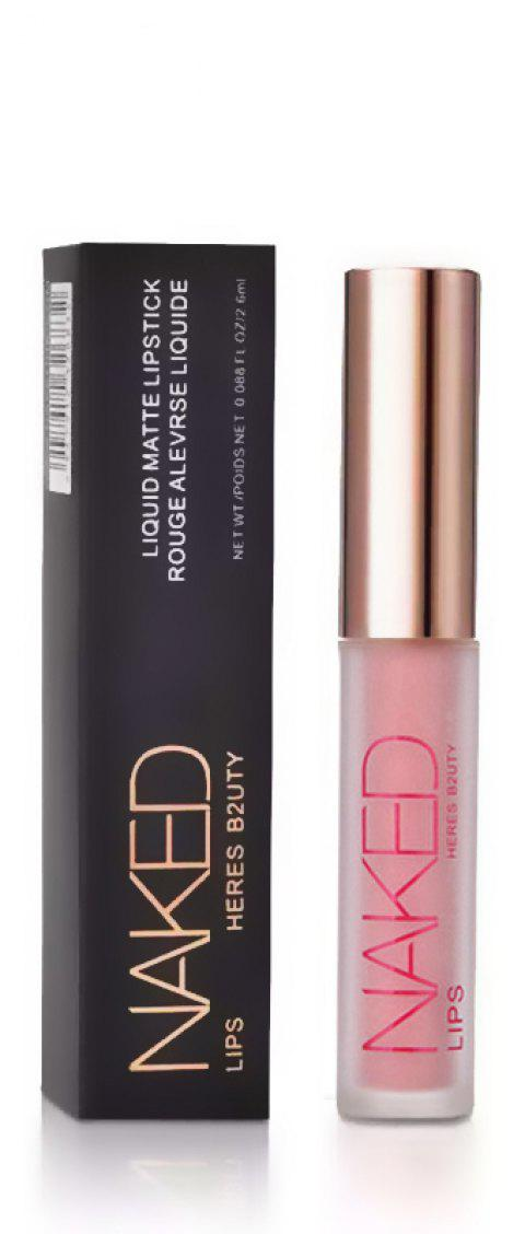 HERES B2UTY Non-stickup Matte Lip Gloss Creamy Nutritious Hydrating Easy to Wear Long Lasting 12 Colors - 12