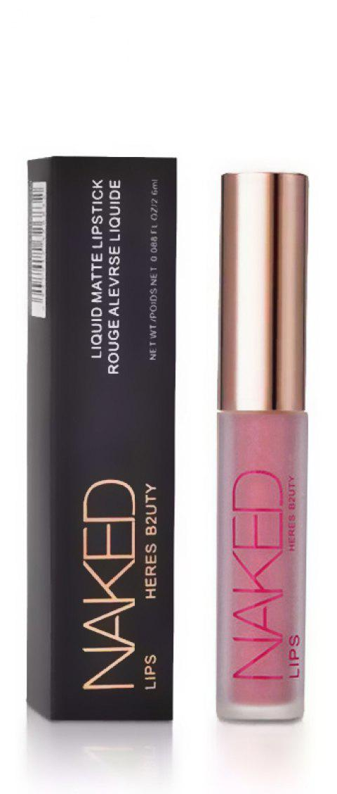HERES B2UTY Non-stickup Matte Lip Gloss Creamy Nutritious Hydrating Easy to Wear Long Lasting 12 Colors - 22