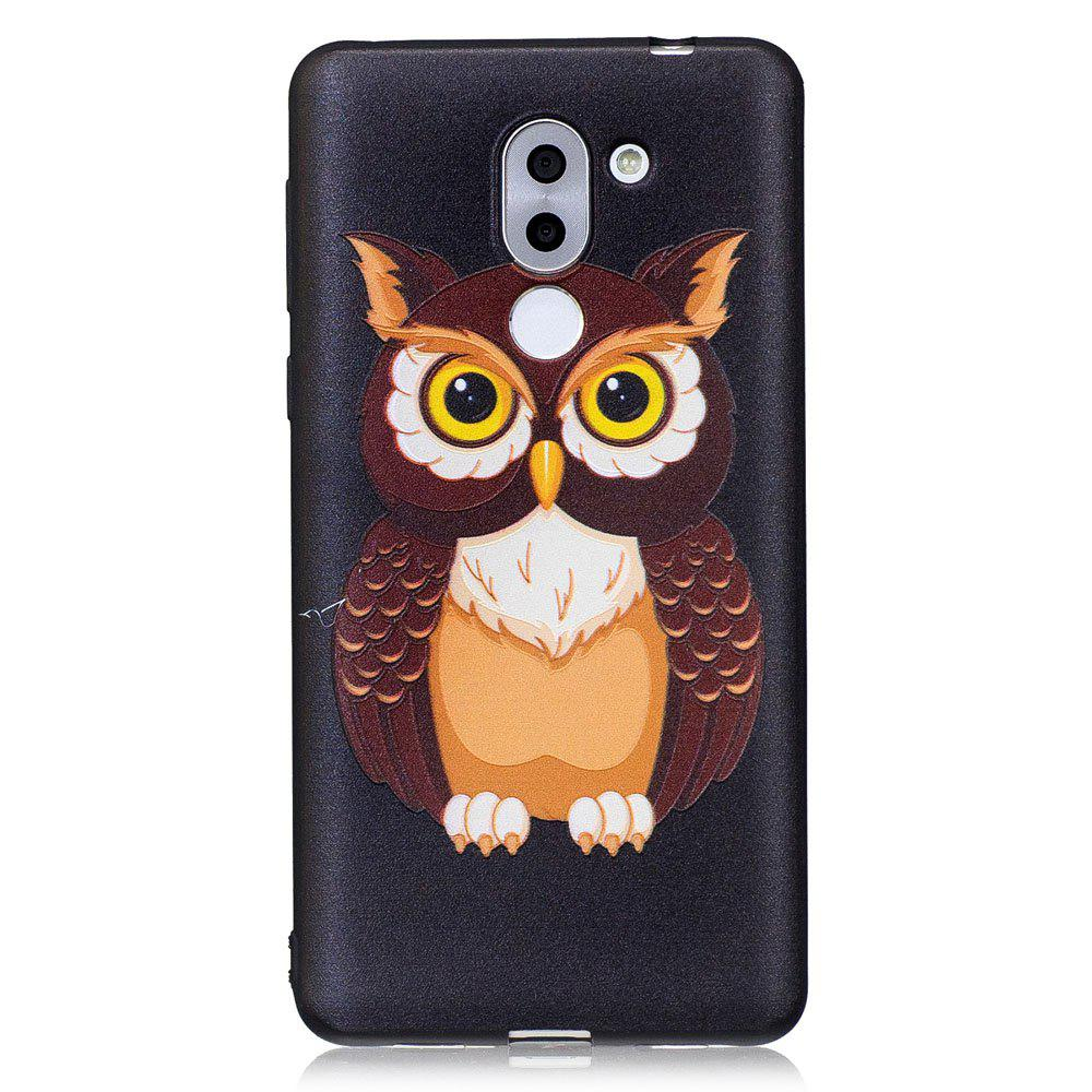 2018 housse en silicone relief pour huawei honor 6x hibou for Housse honor 6x
