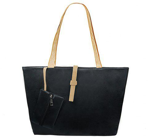 New Leisure Single Shoulder Bag - BLACK