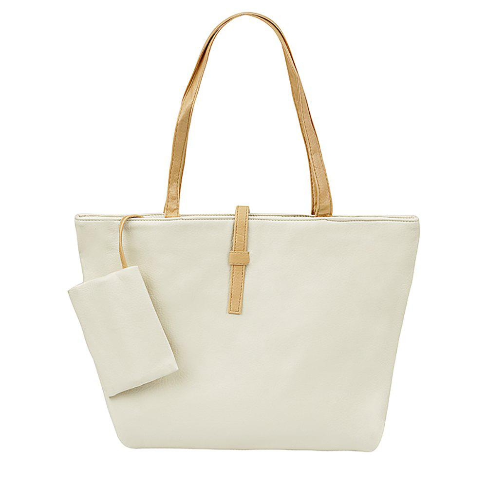 New Leisure Single Shoulder Bag - OFF WHITE
