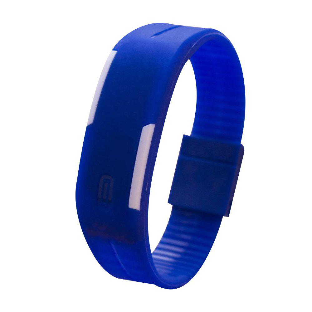 Universal Waterproof LED Sports Watch - DEEP BLUE