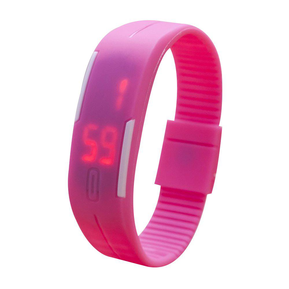 Universal Waterproof LED Sports Watch - PINK