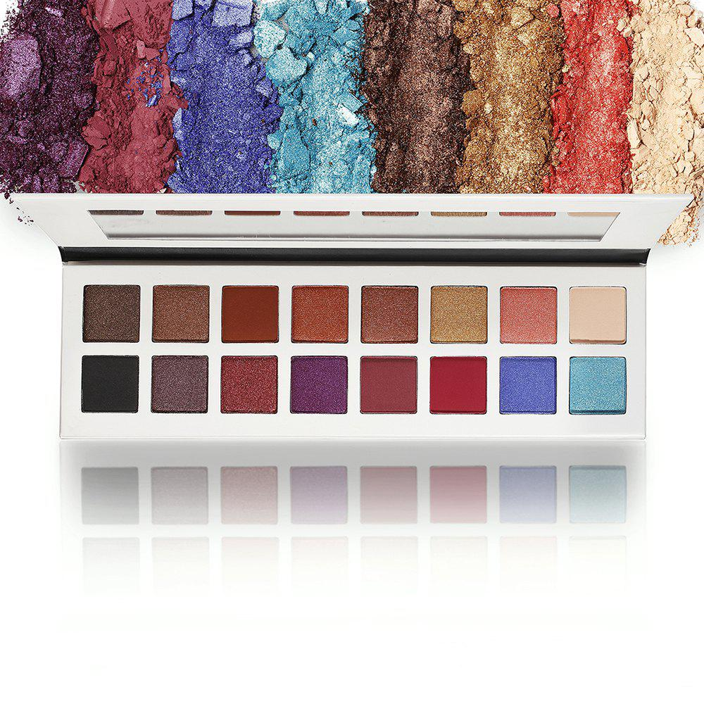 16 Colors Makeup Eyeshadow Compact - COLOUR