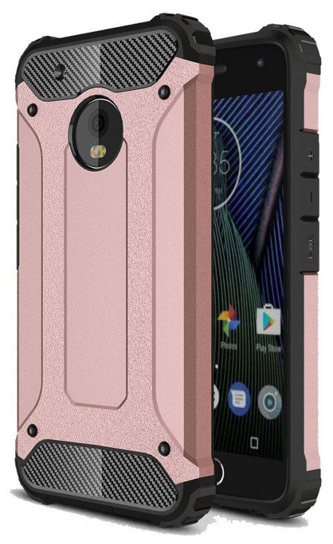 Hockproof Protective Cover for Motorola Moto G5 Plus Armor Hard Mobile Phone Cases - ROSE GOLD