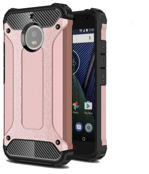Hockproof Protective Cover for Motorola Moto G5S Armor Hard Mobile Phone Cases - ROSE GOLD