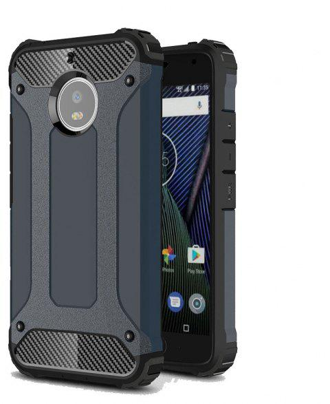 Hockproof Protective Cover for Motorola Moto G5S Armor Hard Mobile Phone Cases - NAVY