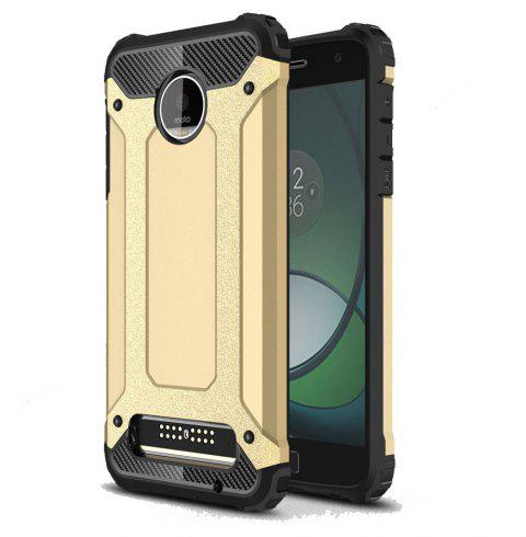 Hockproof Protective Cover for Motorola Moto Z Play Armor Hard Mobile Phone Cases - GOLDEN