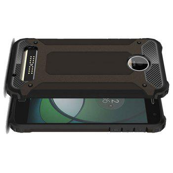 Hockproof Protective Cover for Motorola Moto Z Play Armor Hard Mobile Phone Cases - BLACK