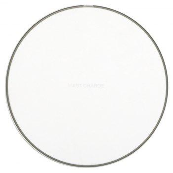 GY-68 Ultra-thin Fast Wireless Phone Charger - SILVER