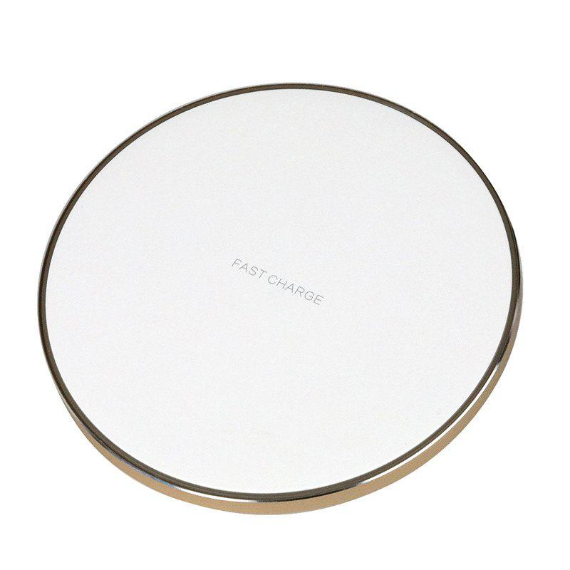 GY-68 Ultra-thin Fast Wireless Phone Charger - GOLDEN
