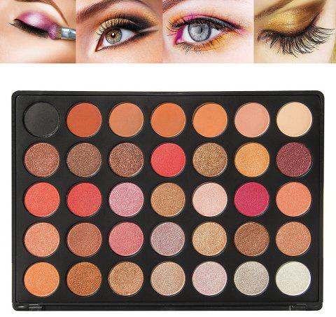 35 Colors Professional Eyeshadow F Section - COLOUR