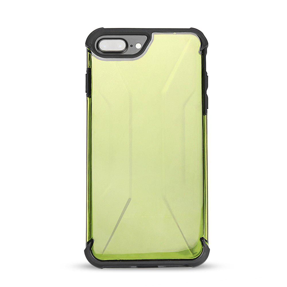 Phone Cases for iPhone 8/Plus 360 Degree Full Protect Durable PC+TPU - MAIZE