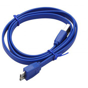 Micro USB 3.0 Cable  Fast Charging Data  Mobile or Samsung Note3 S5 Toshiba Hard Disk - BLUE