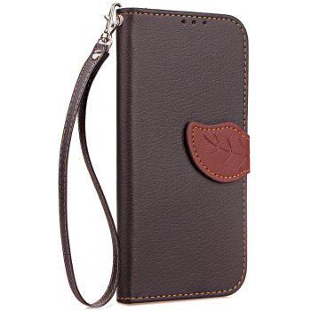 Leaf Luxury Leather Wallet Stand Flip Cover Case for Huawei Mate 10 - BLACK