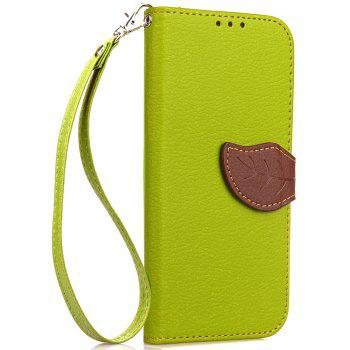 Leaf Luxury Leather Wallet Stand Flip Cover Case for Huawei Mate 10 - GREEN