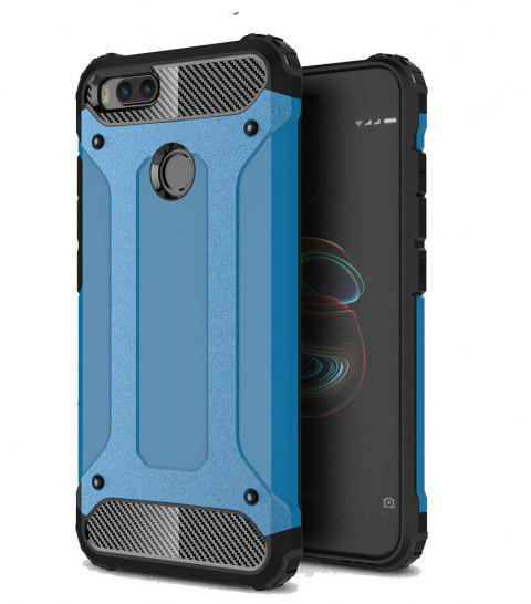Hockproof Protective Cover for Xiaomi 5X / A1 Armor Hard Mobile Phone Cases - BLUE