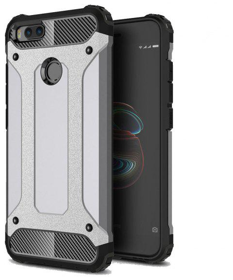 Hockproof Protective Cover for Xiaomi 5X / A1 Armor Hard Mobile Phone Cases - GRAY