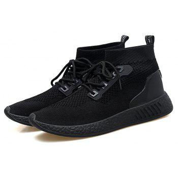 2018 Summer New Arrival High Vamp Sports Shoes - BLACK 44