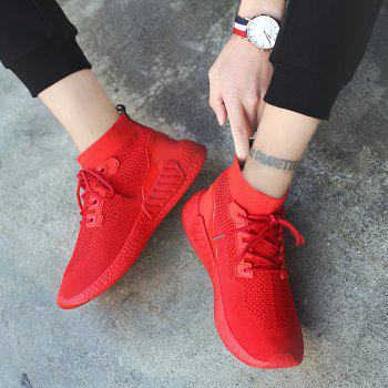 2018 Summer New Arrival High Vamp Sports Shoes - RED 43