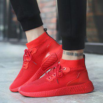 2018 Summer New Arrival High Vamp Sports Shoes - RED 44