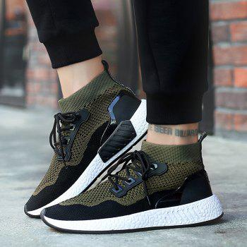 2018 Summer New Arrival High Vamp Sports Shoes - GREEN 44