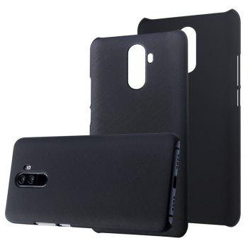 New PC Material Brushed Surface Color Shell Phone Case for Elephone U - BLACK