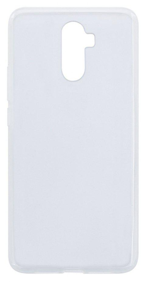 Silicone Case TPU Transparent Shell Materials for Elephone S9 - CLEAR WHITE