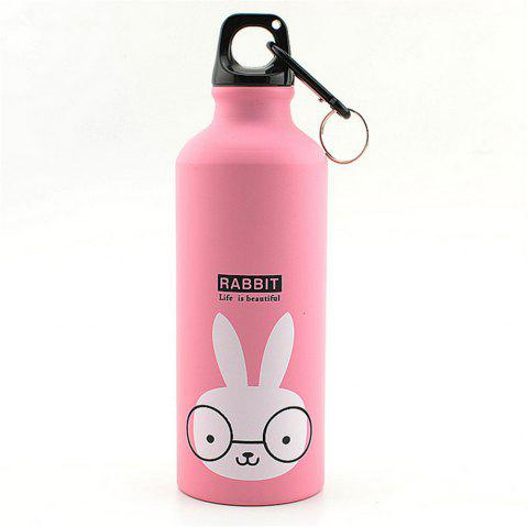 500ML Thermos Cup Coffee Tea Milk Travel Mug Thermol Bottle Gifts Thermocup - PINK